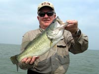 Don with a healthy Choke Canyon bass