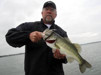Glen with a nice Fayette bass