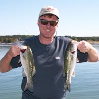 Reaves with a few Travis October bass