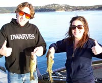 Shane and Kim had a fun day - 2 Travis guadalupe bass